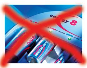kein Batteriewechsel