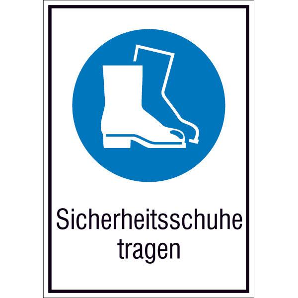 Sécurité Chaussures De Des Porter Panneau D'obligation Combiné XxwCqnYaaI