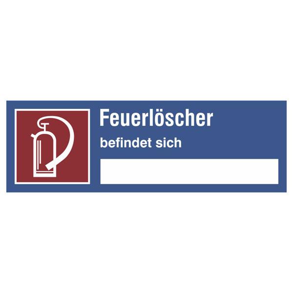 Autocollant extincteur brandschutzzeichen dimensions 20,0 x 20,0 cm film de protection