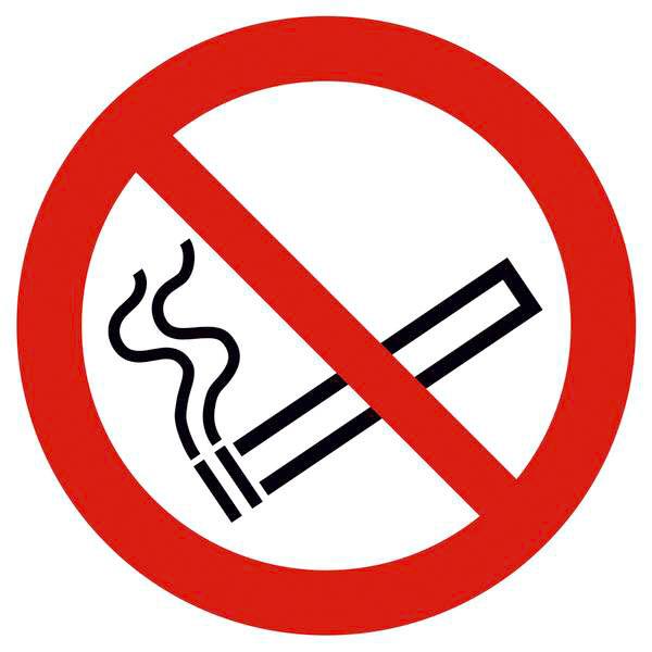 panneau d 39 interdiction interdiction de fumer. Black Bedroom Furniture Sets. Home Design Ideas