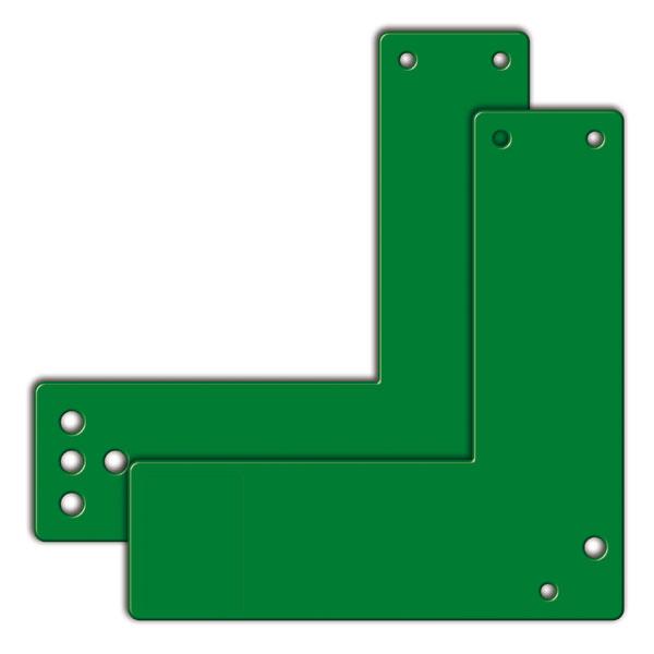 Accessoires pour le d tecteur d 39 ouverture de porte plaque for Les portes logiques de base