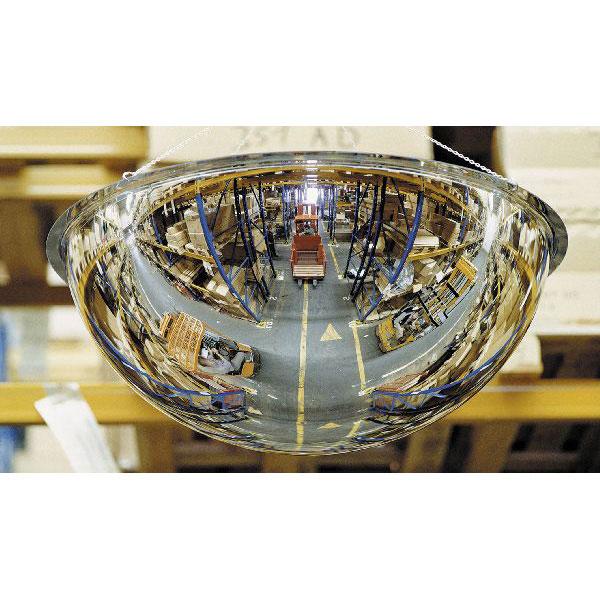 Miroir de surveillance panorama 360 s h misph rique for Miroir de surveillance
