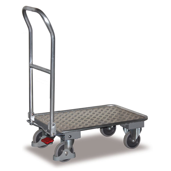 chariot pliable chariot en aluminium tubulaire chariot de. Black Bedroom Furniture Sets. Home Design Ideas