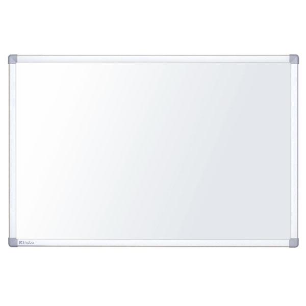 nobo nano clean whiteboard stahl magnetisch mit hochwertig eloxiertem alurahmen. Black Bedroom Furniture Sets. Home Design Ideas