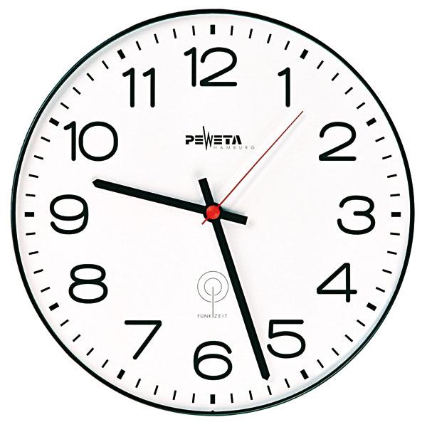 Horloge murale peweta horloge pour espace grand for Horloge murale grande dimension