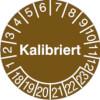 Pr�fplakette - Kalibriert 18-23