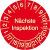 Prüfplakette - Nächste Inspektion 17-22