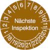 Pr�fplakette - N�chste Inspektion 18-23