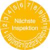 Pr�fplakette - N�chste Inspektion 19-24