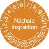 Prüfplakette - Nächste Inspektion 20-25
