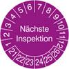 Prüfplakette - Nächste Inspektion 21-26