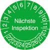 Prüfplakette - Nächste Inspektion 22-27