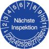Prüfplakette - Nächste Inspektion 23-28