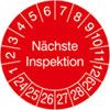 Prüfplakette - Nächste Inspektion 24-29