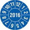 Pr�fplakette Jahresplakette mit 4-stelliger Jahreszahl