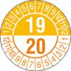Pr�fplakette zweij�hrig 19/20