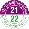 Prüfplakette zweijährig 21/22