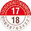 Pr�fplakette zweij�hrig 17/18