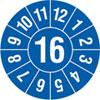 Pr�fplakette Jahresplakette mit 2-stelliger Jahreszahl