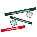 Kopfzeile für Flucht- und Rettungspläne Flucht- und Rettungsplan, selbstklebend