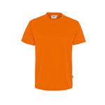 Berufsbekleidung T-Shirts HAKRO T-Shirt 'performance', orange,