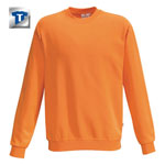 Berufsbekleidung Sweatshirt HAKRO Sweatshirt 'performance', orange,