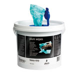 Hautreinigung PlumWipes Heavy-Duty,