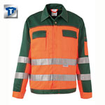 PLANAM Warnschutz-Bundjacke, orange-gr�n