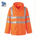 PLANAM Warnschutz-Regenjacke, orange