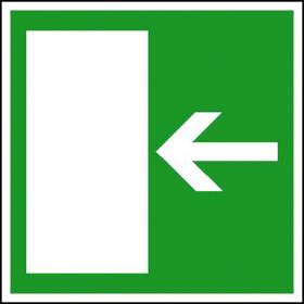 Rettungsschild - nachleuchtend Rettungsweg rechts bzw. links