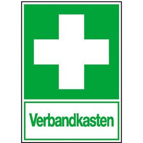 Erste-Hilfe-Kombischild - langnachleuchtend Erste Hilfe - Verbandkasten