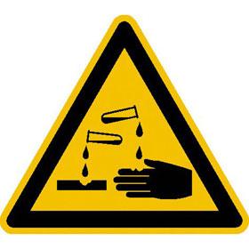 Warnschild Warnung vor �tzenden Stoffen