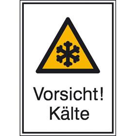 Warn-Kombischild Vorsicht! K�lte