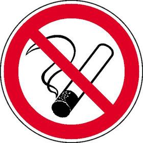 Verbotsschild - langnachleuchtend Rauchen Verboten