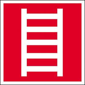 Brandschutzschild - nachleuchtend Leiter