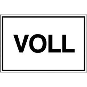 Hinweisschild - Betriebskennzeichnung Voll