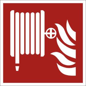 Brandschutzschild - langnachleuchtend Löschschlauch
