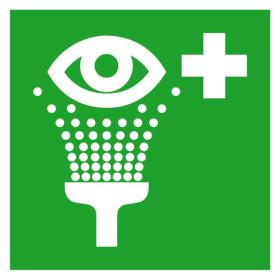 Erste-Hilfe-Schild - langnachleuchtend Augensp�leinrichtung