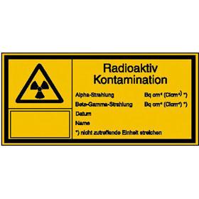 Warn-Kombischild - Strahlenschutz Radioaktiv Kontamination