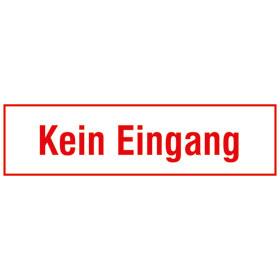 Hinweisschild - Betriebskennzeichnung Kein Eingang