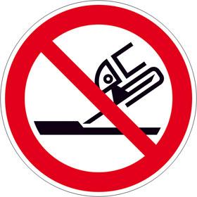 Verbotsschild Nicht zulässig für Seitenschleifen