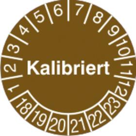 Prüfplakette Kalibriert