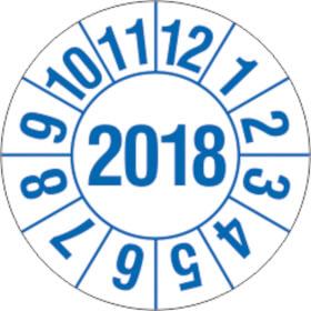 Prüfplakette für Labore und Krankenhäuser Jahresplakette mit 4-stelliger Jahreszahl