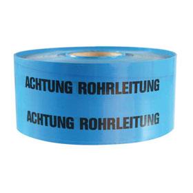 Trassenwarnband Qualität: verschleißfeste Polyethylen-Verbundfolie