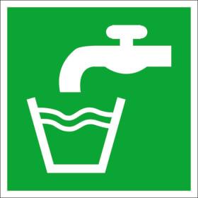 Fluchtwegschild - langnachleuchtend Trinkwasser
