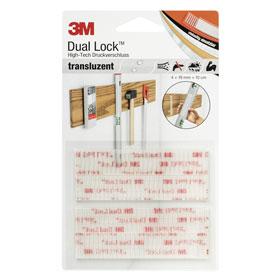 3m dual lock klebe klettband vier streifen tempor re. Black Bedroom Furniture Sets. Home Design Ideas