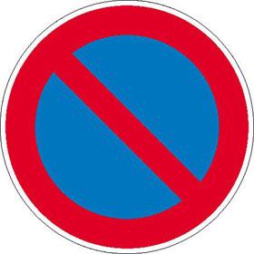 Verkehrszeichen - StVO Eingeschränktes Haltverbot