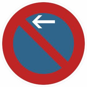 Verkehrszeichen - StVO Eingeschränktes Haltverbot - Anfang -, - Ende -