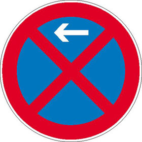 Verkehrszeichen - StVO Absolutes Haltverbot - Anfang -, - Ende -