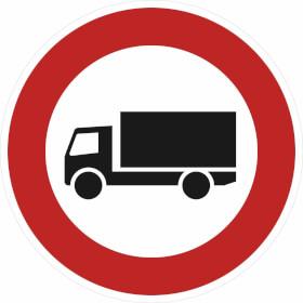 Verkehrszeichen - StVO Verbot für Kraftfahrzeuge über 3,5 t